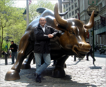 NYSE Bull and me